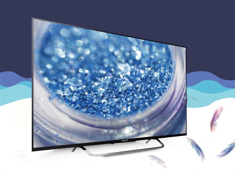 Smart Tivi Sony KD-49X8300C 49 inch - Thiết kế mỏng, hiện đại, đẹp mắt