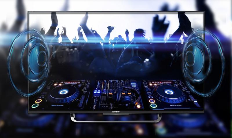 Smart Tivi Sony KD-49X8300C 49 inch - Âm thanh nổi bật, ấn tượng