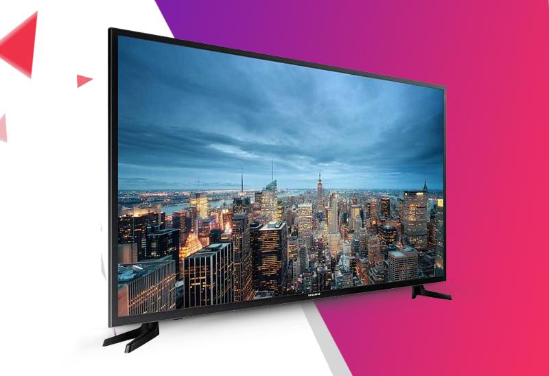 Smart Tivi 40 inch Samsung UA40JU6000 - Thiết kế thanh lịch với màn hình mỏng và đường viền màn hình nhỏ, tinh tế