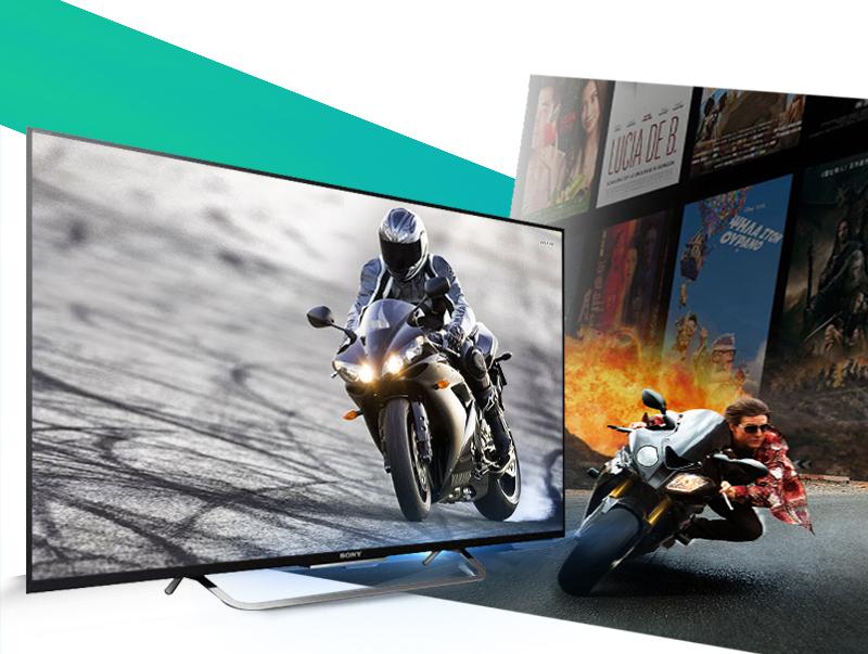 Smart Tivi Led Sony KDL-65W850C 65 inch - Mang đến chuỗi cảnh hành động nhanh mượt mà như lụa trên màn hình với tần số quét 800 Hz