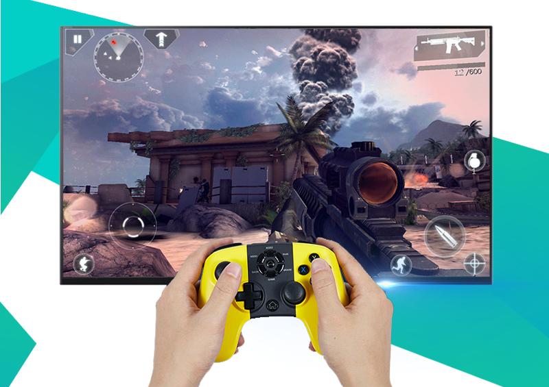 Thỏa sức trải nghiệm với kho game ấn tượng và khả năng kết nối 4 tay cầm chơi game cùng lúc