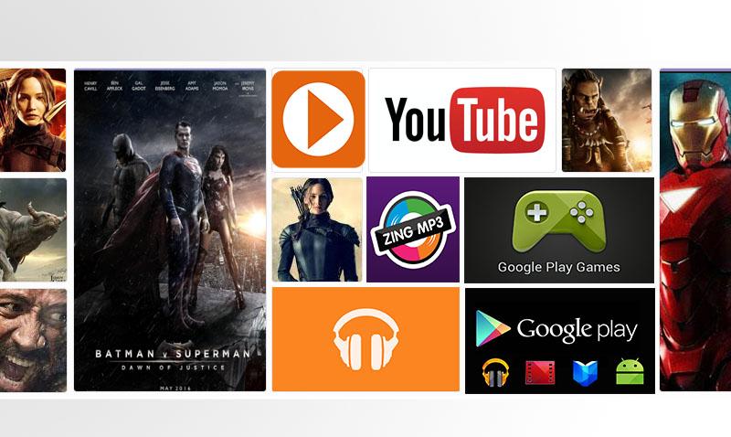 Tivi thông minh hệ điều hành Android