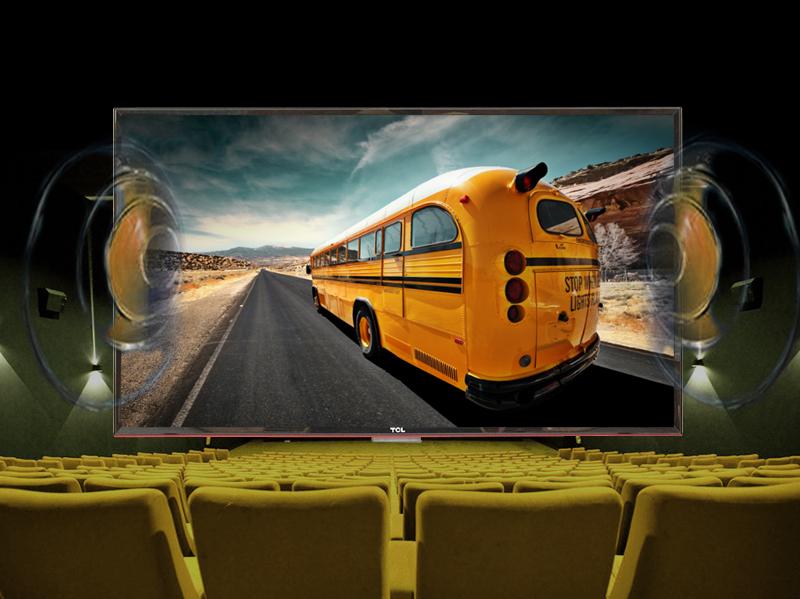 Tivi LED TCL L42D2700D 42 inch - Ứng dụng công nghệ âm thanh vòm ảo DDAS với các dãy âm thanh mạnh mẽ, nâng cao chất lượng âm thanh