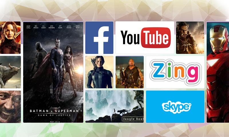 Smart Tivi TCL L32S4700 32 inch - Xem phim, nghe nhạc, lướt Facebook, gọi Skype… trên tivi