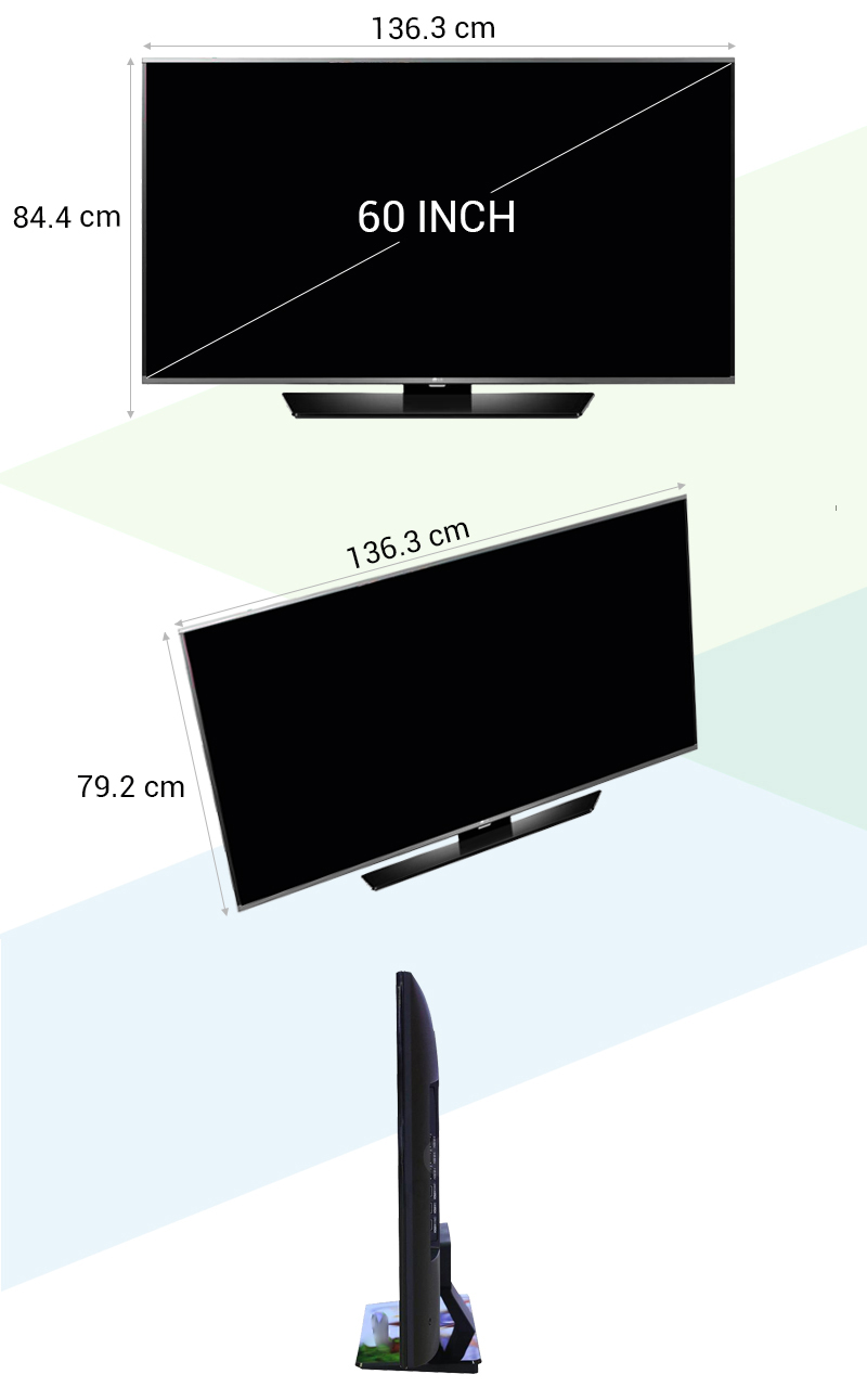 Smart Tivi LG 60LF632T 60 inch - Thông số