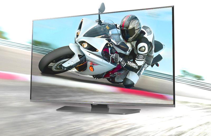 Smart Tivi LG 60LF632T 60 inch - Các chuyển động nhanh trở nên sắc sảo, mượt mà với tần số quét 100 Hz
