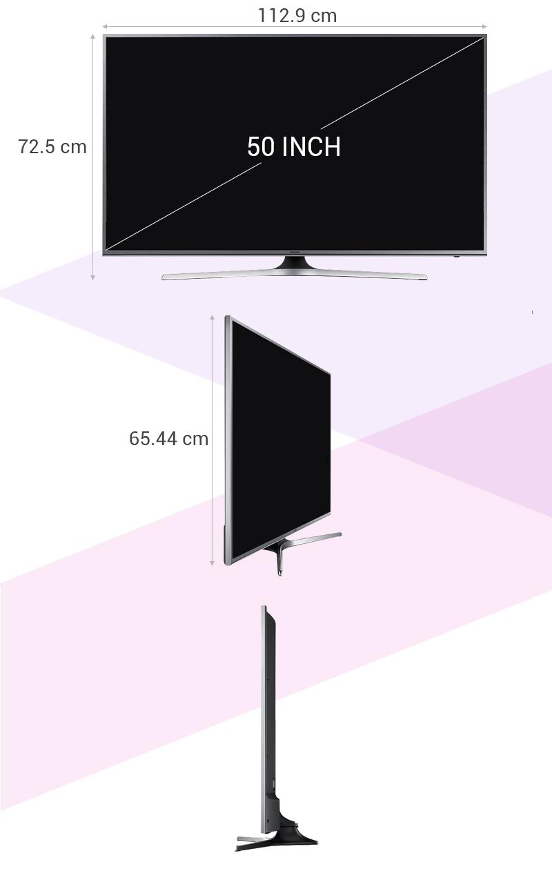 Smart Tivi Samsung UA50JS7200 50 inch - Thông số kỹ thuật