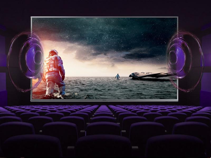 Smart Tivi Samsung UA50JS7200 50 inch - Âm thanh vòm tuyệt hảo, mạnh mẽ với công nghệ âm thanh Digital Dolby Plus