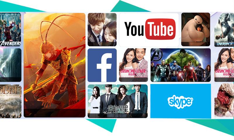 Smart Tivi Zing TCL 40 inch L40Z1 - Xem phim, lướt web, nghe nhạc, chơi game… trên tivi