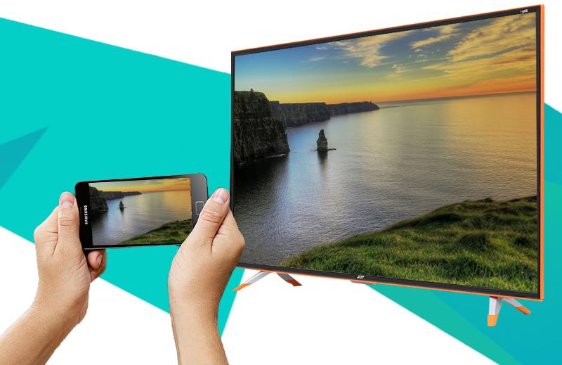 Smart Tivi Zing TCL 40 inch L40Z1 - Chiếu hình ảnh từ điện thoại, máy tính bảng lên tivi