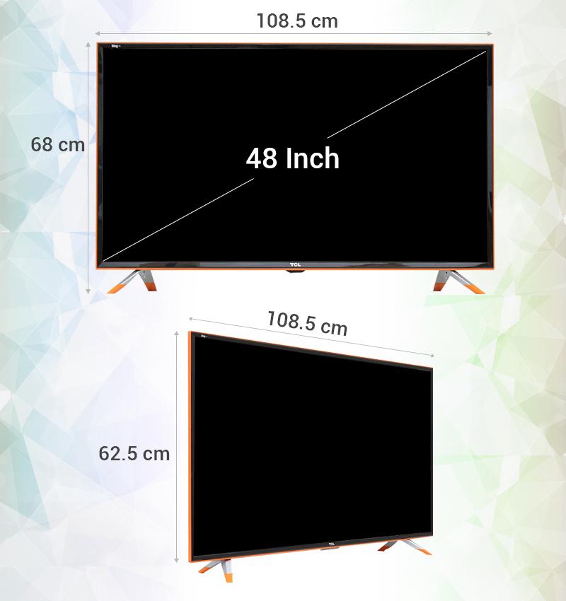 Smart Tivi Zing TCL 48 inch L48Z1 - Thông số kỹ thuật