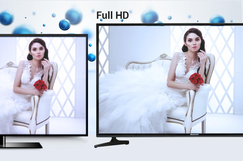 Smart Tivi Skyworth 43 inch 43S810 - Màn hình Full HD