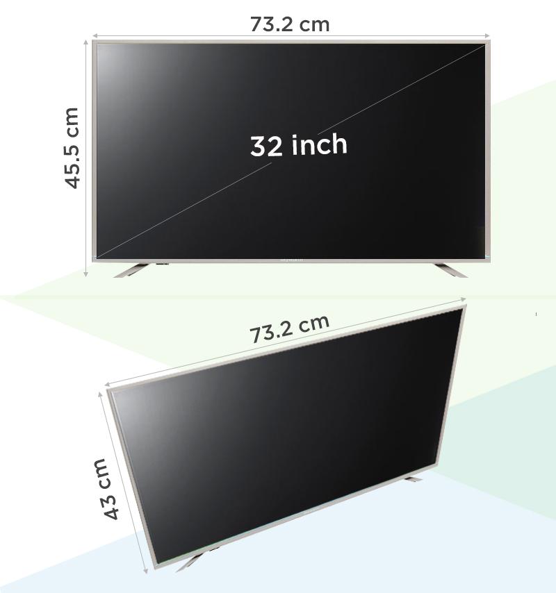 Smart Tivi Skyworth 32 inch 32S810 - Thông số kỹ thuật