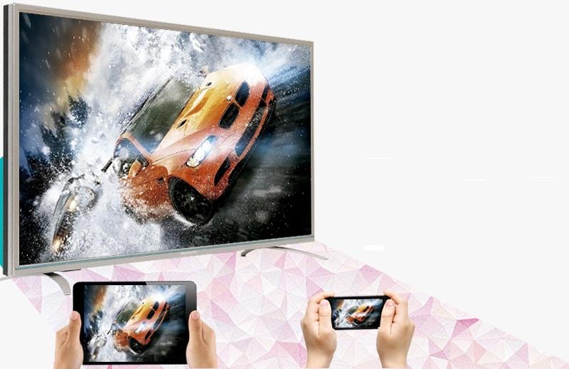 Smart Tivi Skyworth 32 inch 32S810 - Chiếu màn hình điện thoại lên tivi qua Skyshare