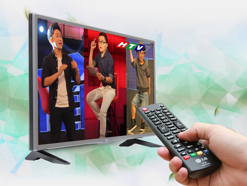 Tivi LED LG 32LF510D 32 inch - Nhiều kênh truyền hình kỹ thuật số miễn phí với đầu thu DVB-T2 tích hợp sẵn