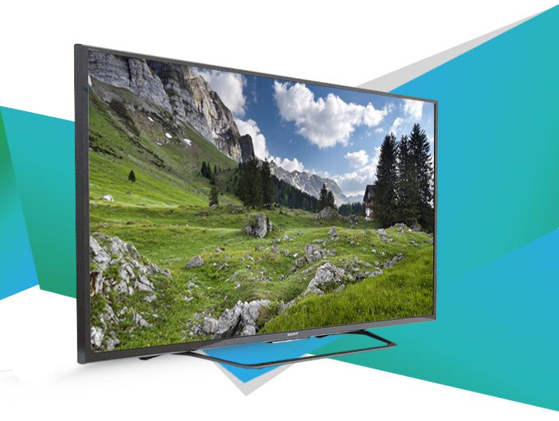 Smart Tivi 55 inch Sony KD-55X8000C - Không gian sang trọng, đẳng cấp với tivi thiết kế siêu mỏng (phần dày nhất là 8 cm)
