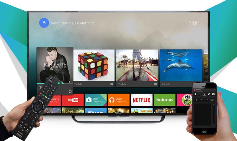 Smart Tivi 55 inch Sony KD-55X8000C - Cài đặt ứng dụng TV Sideview cho điện thoại để điều khiển tivi tiện lợi hơn