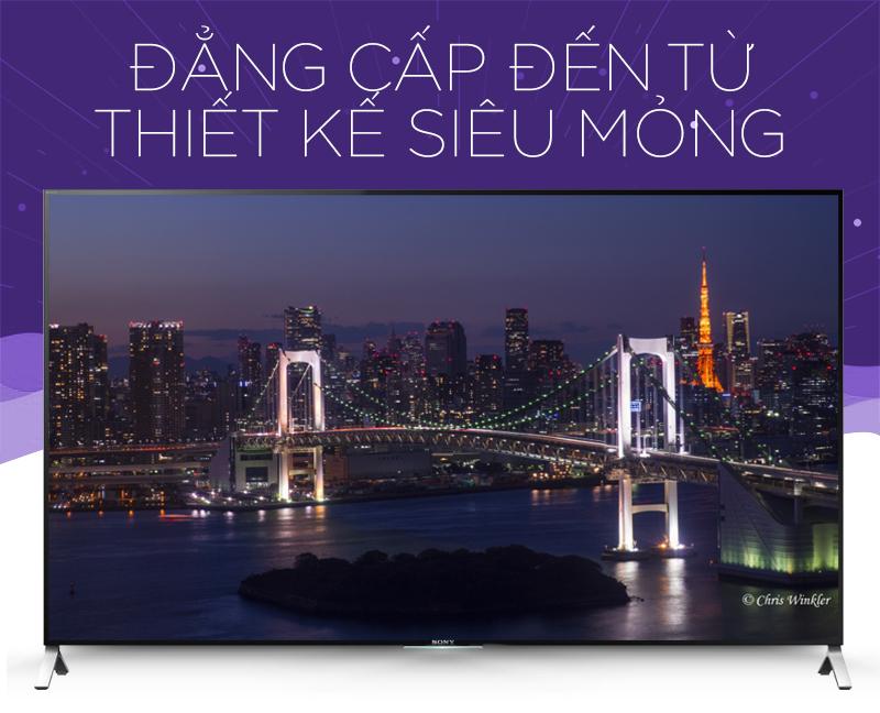 Smart Tivi Sony KD- 55X9000C 55 inch