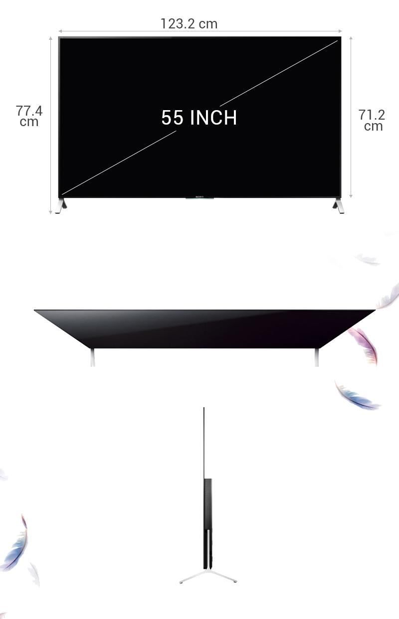Smart Tivi Sony KD- 55X9000C 55 inch   -  Thông số kỹ thuật