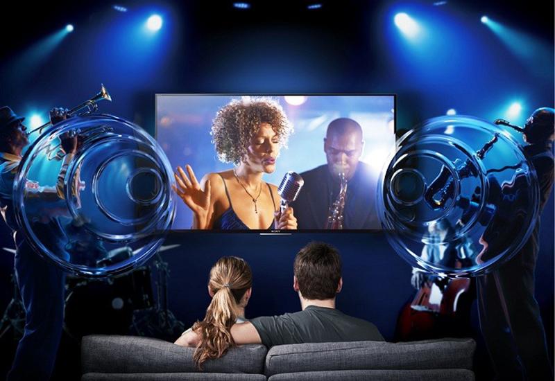 Smart Tivi Sony KD- 55X9000C 55 inch  - Âm thanh như vây quanh bạn với công nghệ ClearAudio+