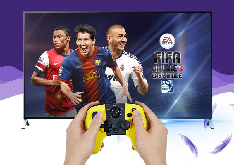 Smart Tivi Sony KD- 55X9000C 55 inch  - Trải nghiệm game yêu thích cùng bạn bè nhờ khả năng kết nối tốt bốn tay cầm chơi game trên tivi