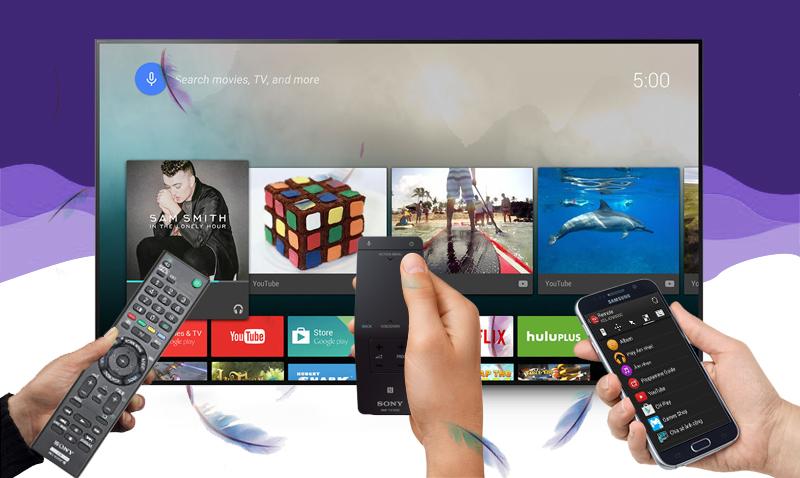 Smart Tivi Sony KD- 55X9000C 55 inch   - Điều khiển tivi bằng điện thoại nhờ ứng dụng Video & TV SideView