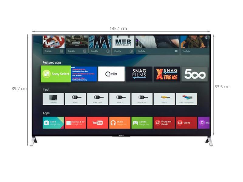 Thông số kỹ thuật Smart Tivi Sony KD- 65X9000C 65 inch