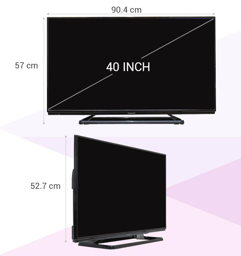 Tivi Panasonic TH-40C400V 40 inch -  Thông số kỹ thuật
