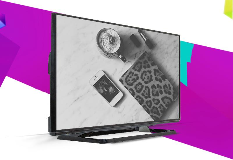 Tivi Panasonic TH-40C400V 40 inch - Gây ấn tượng từ cái nhìn đầu tiên với thiết kế mạnh mẽ, sang trọng