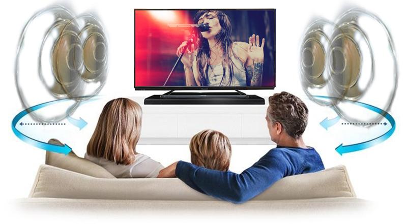 Tivi Panasonic TH-40C400V 40 inch - Trải nghiệm âm thanh sống động, chân thực cùng công nghệ âm thanh V-Audio