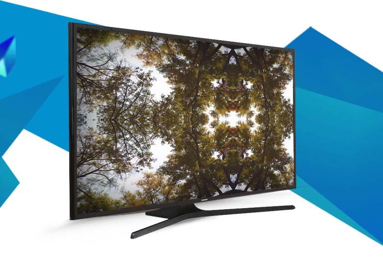 Tivi LED Samsung UA48J5000 48 inch - Nổi bật chân đế chắc chắn tạo nên nét nổi bật và sự sang trọng cho không gian đặt