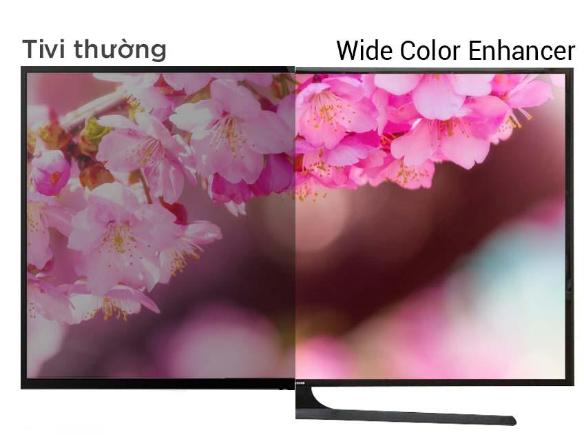Tivi LED Samsung UA48J5000 48 inch - Hình ảnh Full HD rực rỡ hơn, chân thực hơn với hệ màu mở rộng của công nghệ Wide Color Enhancer