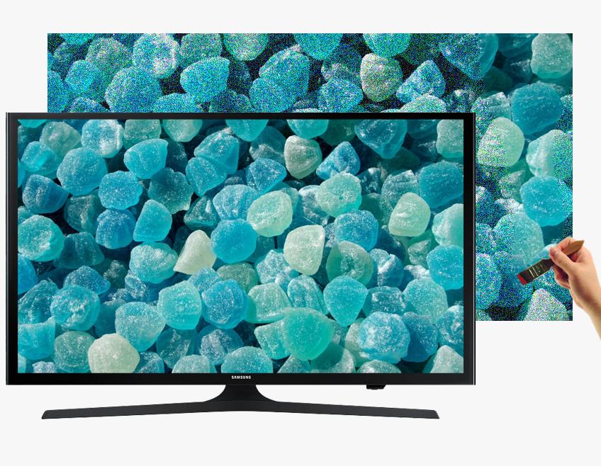 Internet Tivi LED Samsung UA50J5200 50 inch - Màu sắc sống động cùng hệ màu mở rộng với công nghệ Wide Color Enhancer (Plus)