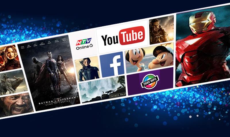 Internet Tivi LED Samsung UA50J5200 50 inch  - Tận hưởng thế giới giải trí vô tận nhờ kết nối Internet mạnh mẽ