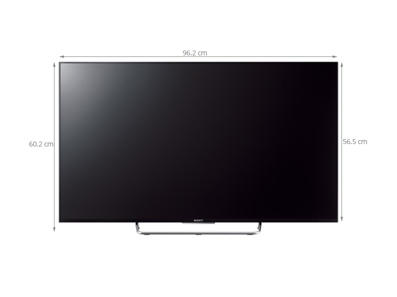 Thông số kỹ thuật Internet Tivi Sony KDL-43W780C 43 inch