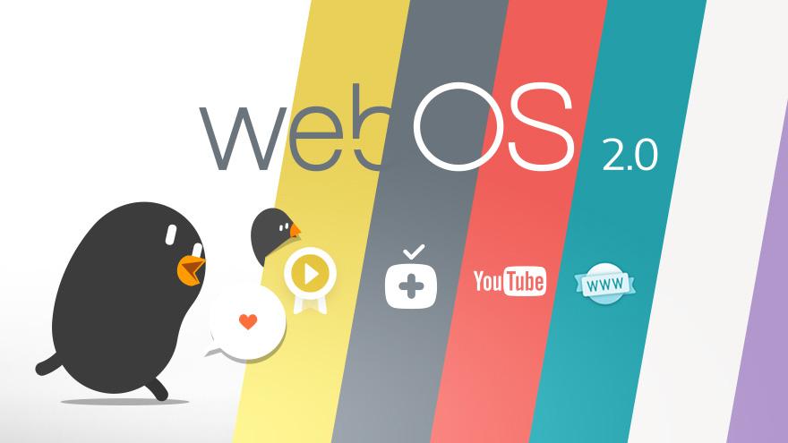 Hệ điều hành WebOS vui nhộn