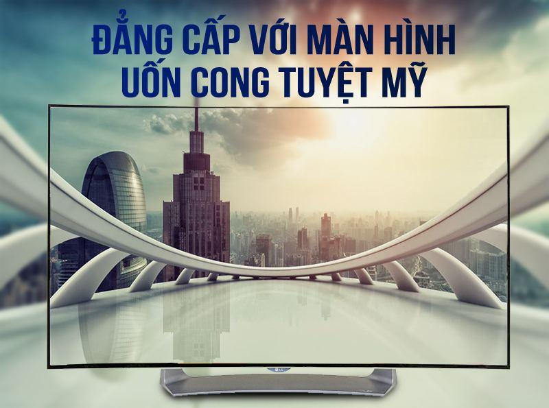 Smart Tivi OLED Cong LG 55 inch 55EG910T