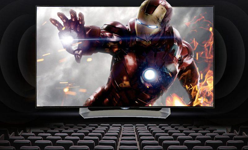 Smart Tivi OLED Cong LG 55 inch 55EG910T-Âm thanh vòm