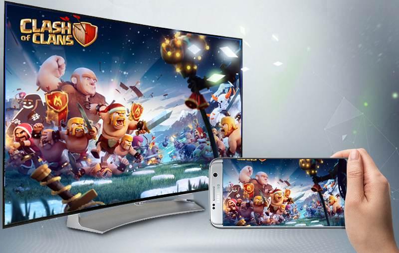 Smart Tivi OLED Cong LG 55 inch 55EG910T-Chiếu màn hình Screen Mirroring