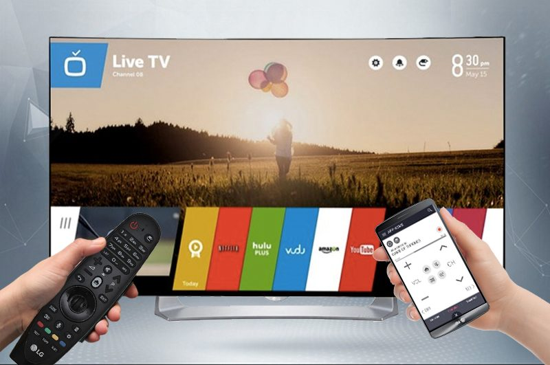 Smart Tivi OLED Cong LG 55 inch 55EG910T-Điều khiển bằng điện thoại