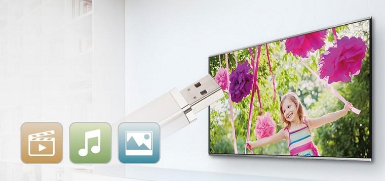 Tivi Oled LG 55EG910 – Kết nối USB