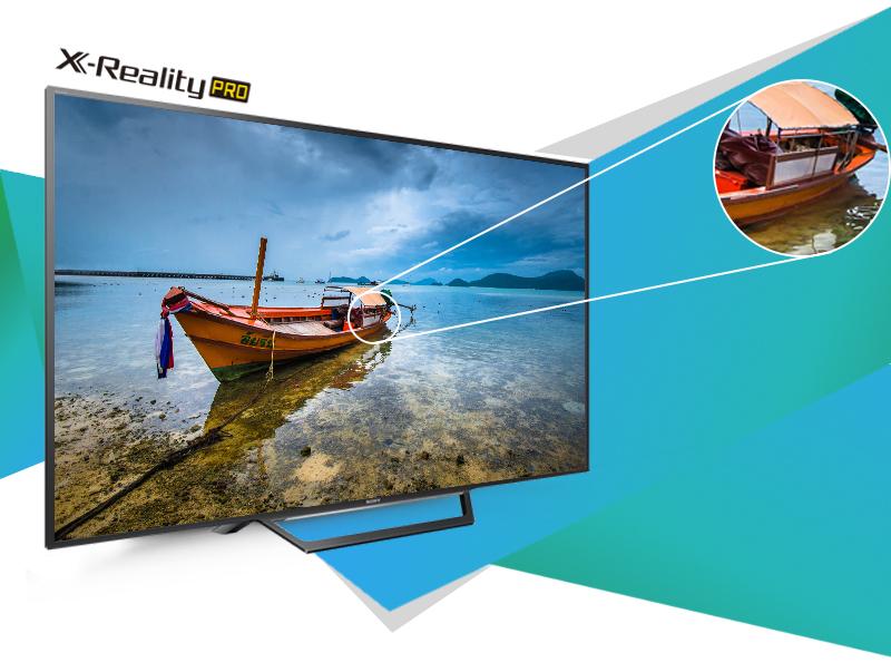 Internet Tivi Sony 32 inch KDL-32W600D - Hình ảnh sắc nét