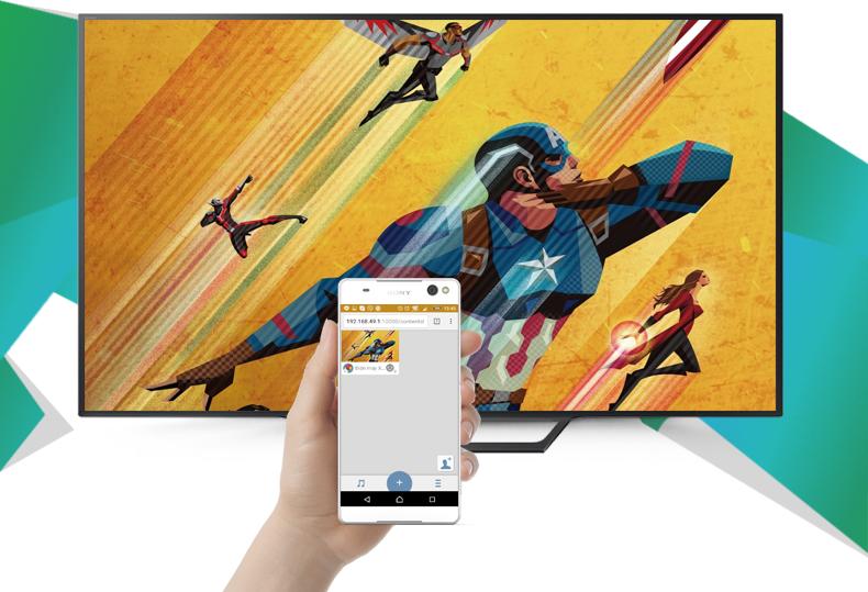 Internet Tivi Sony 32 inch KDL-32W600D - Chia sẻ hình lên tivi