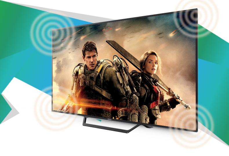 Internet Tivi Sony 32 inch KDL-32W600D - Âm thanh vòm đặc sắc