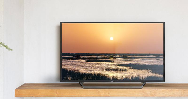 Internet Tivi Sony 40 inch KDL-40W650D - Thiết kế đơn giản hiện đại