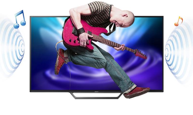 Smart Tivi Sony 40 inch KDL-40W650D - Âm thanh
