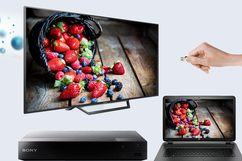Smart Tivi Sony 40 inch KDL-40W650D - kết nối