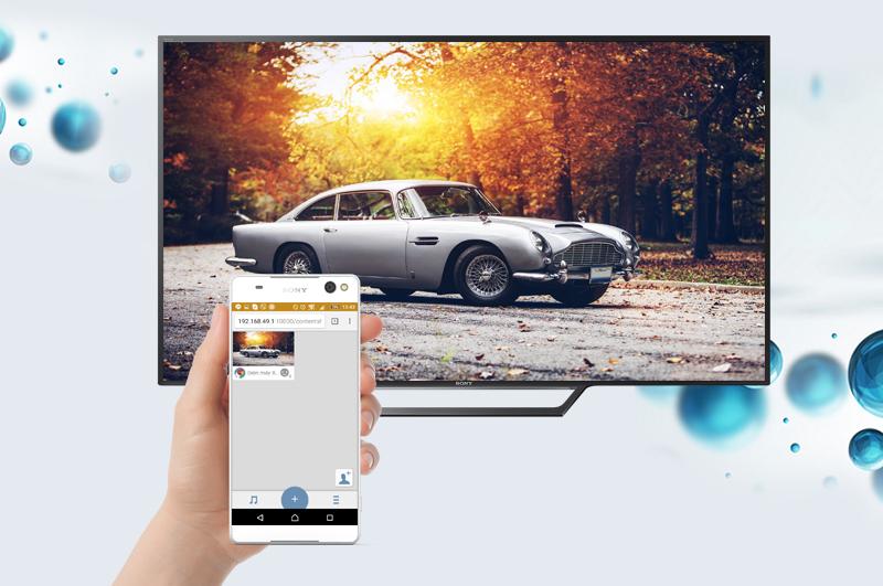 Smart Tivi Sony 40 inch KDL-40W650D - Chia sẻ hình ảnh
