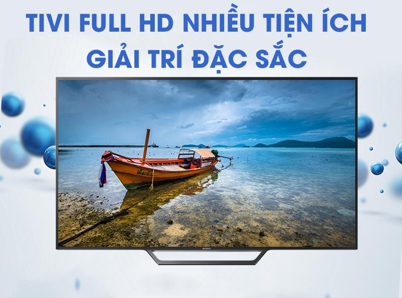Smart Tivi Sony 40 inch KDL-40W650D - Độ phân giải Full HD
