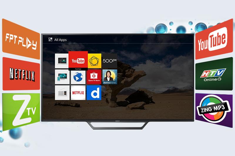 Internet Tivi Sony 40 inch KDL-40W650D - Ứng dụng